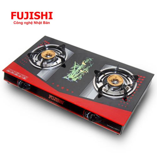 Bếp gas chén đồng kính cường lực Fujishi FJ-D790-2