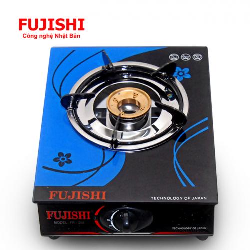 Bếp gas đơn chén đồng Fujishi FR-268D (Kính xanh)-1
