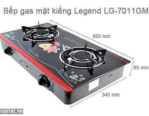 Bếp gas hồng ngoại Legend LG-7011GM - Điếu gang-1