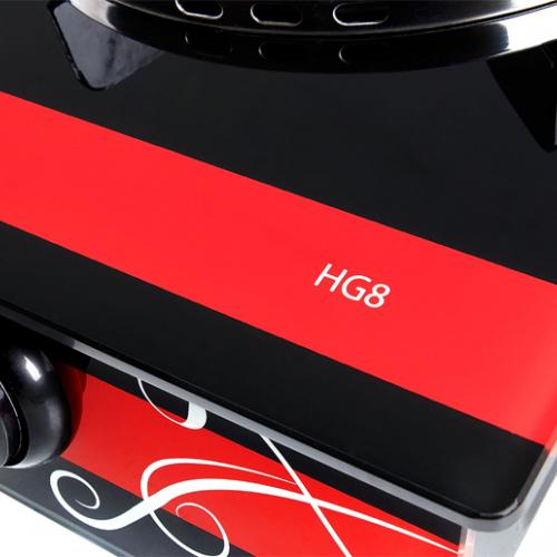 Bếp gas hồng ngoại Taka TK-HG8, Magneto 2 vòng lửa-2