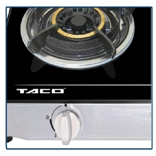 Bếp gas Taco TC-662 BG - Khung inox-1
