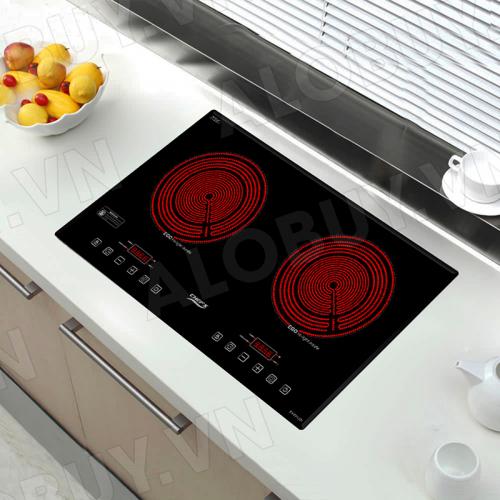 Bếp hồng ngoại đôi cảm ứng CHEFS EH-DHL321-4