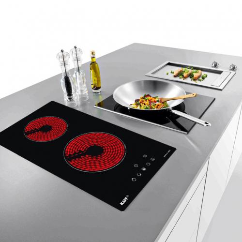Bếp hồng ngoại đôi cảm ứng DOMINO KAFF KF-330DC-4