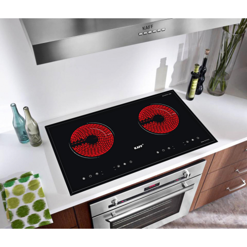 Bếp hồng ngoại đôi cảm ứng KAFF KF-073CC