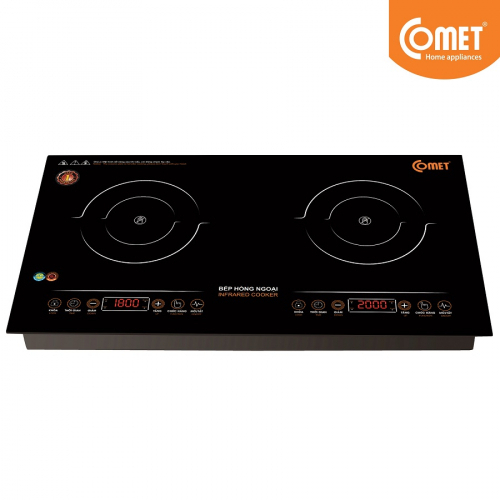 Bếp hồng ngoại đôi Comet CM5579-1