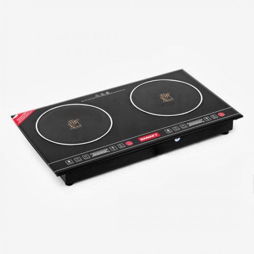 Bếp hồng ngoại đôi Sanaky AT-202HGW-2
