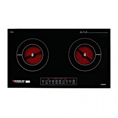 Bếp hồng ngoại đôi Taka TK-R02A-1