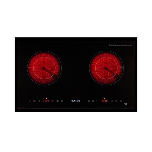 Bếp hồng ngoại đôi Taka TK-R2B