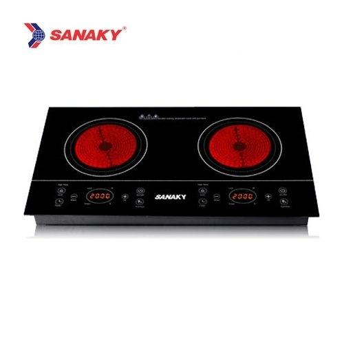Bếp hồng ngoại Sanaky AT-201HGW-3