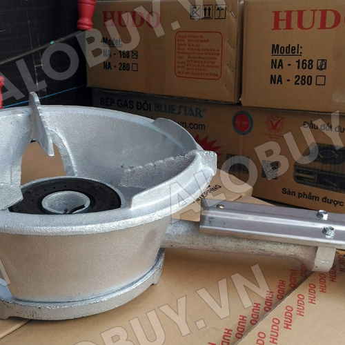 Bếp khè gas công nghiệp HUDO 168 (Màu Xám)-3