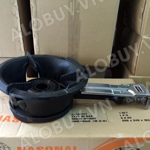Bếp khè gas công nghiệp Nasonal 168 (Màu đen)-4