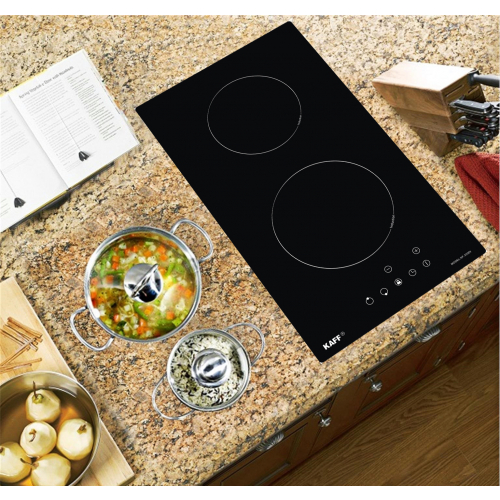 Bếp từ đôi cảm ứng DOMINO KAFF KF-330DI