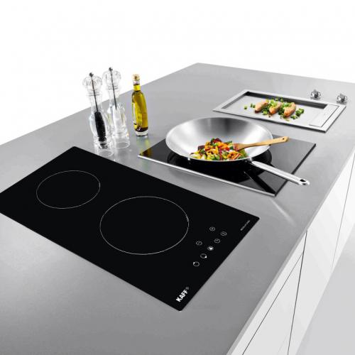 Bếp từ đôi cảm ứng DOMINO KAFF KF-330DI-1