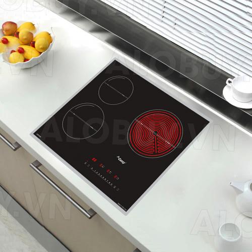 Bếp từ đôi hồng ngoại 3 lò cảm ứng CANZY CZ-67GHP-1