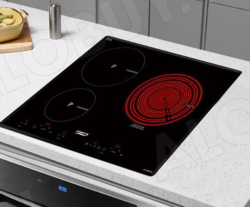 Bếp từ đôi hồng ngoại 3 lò cảm ứng CHEFS EH-MIX545-3