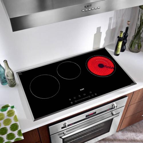 Bếp từ đôi hồng ngoại 3 lò cảm ứng KAFF KF-IC5801SB-1