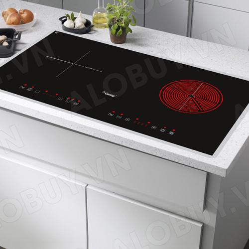 Bếp từ đôi hồng ngoại cảm ứng CANZY CZ-900GEB-1