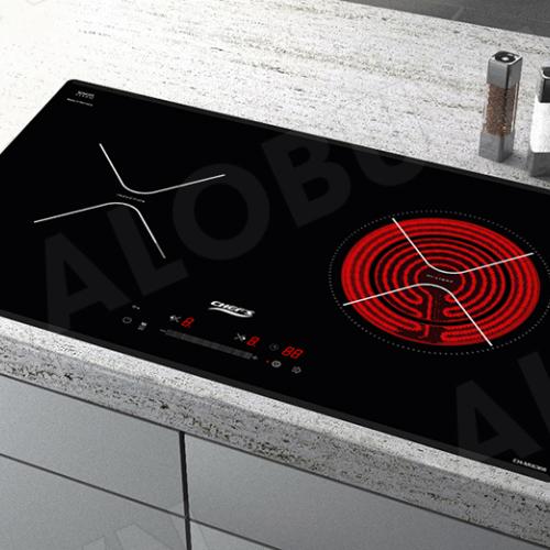 Bếp từ đôi hồng ngoại cảm ứng CHEFS EH-MIX366-1