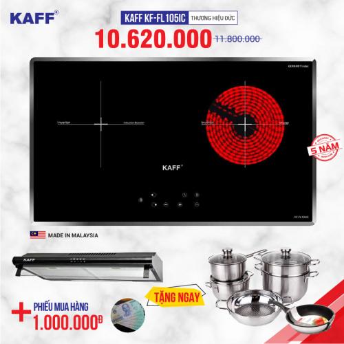 Bếp từ đôi hồng ngoại cảm ứng KAFF KF-FL105IC