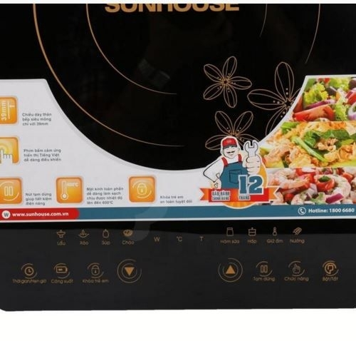 Bếp từ Sunhouse SHD6800-4
