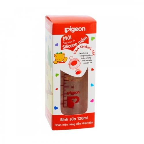 Bình sữa tròn Pigeon RP4 120ml-3