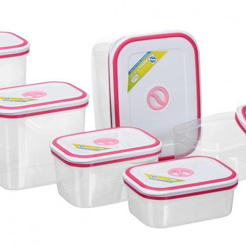 Bộ 6 hộp nhựa Homio PL 13-002-2