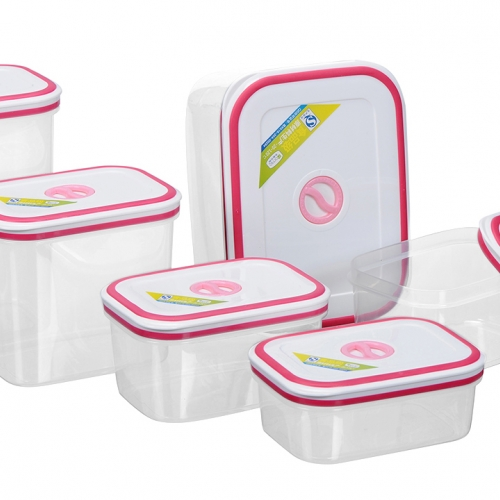 Bộ 6 hộp nhựa Homio PL 13-003 -1