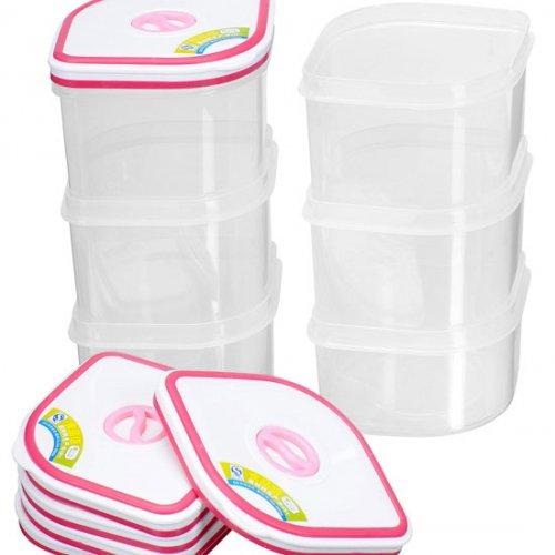Bộ 6 hộp nhựa Homio PL 13-003 -3