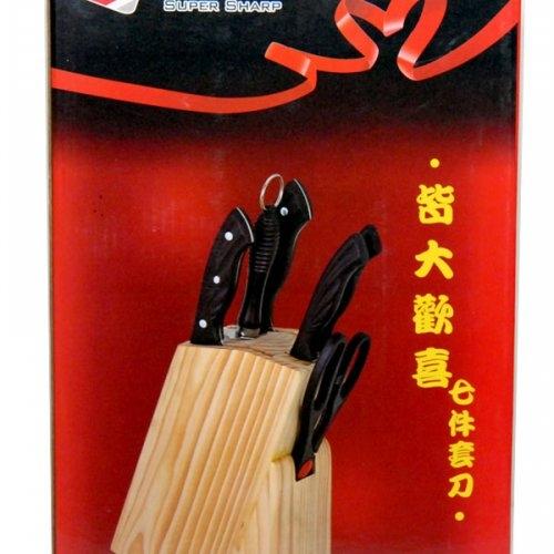 Bộ dao kéo làm bếp 7 món Super Sharp-3