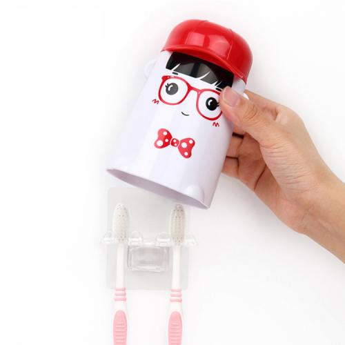 Bộ dụng cụ lấy kem tự động kèm 2 giá treo bàn chải AAPEC E1501-2