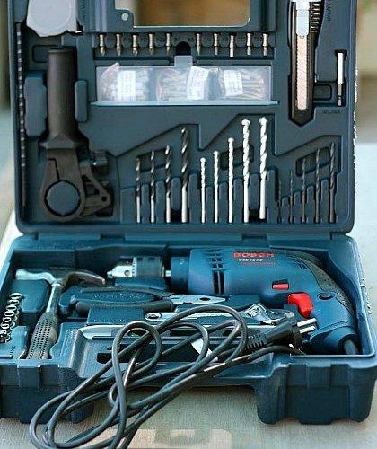 Bộ dụng cụ Máy khoan Bosch GSB 1300 RE Set-2