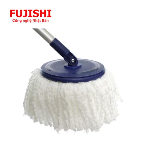 Bộ lau sàn xoay tay 360 độ Fujishi Mop Smart FJ-360RN + Tặng 01 Bông Lau-5