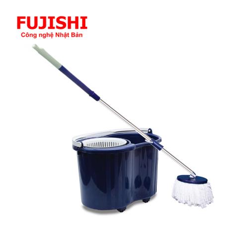Bộ lau sàn xoay tay 360 độ Fujishi Mop Smart FJ-360RN + Tặng 01 Bông Lau-6
