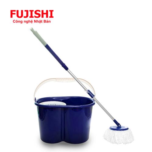 Bộ lau sàn xoay tay 360 độ Fujishi Mop Smart FJ-360RN + Tặng 01 Bông Lau-3