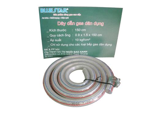 Bộ van dây ngắt gas tự động Bluestar-3