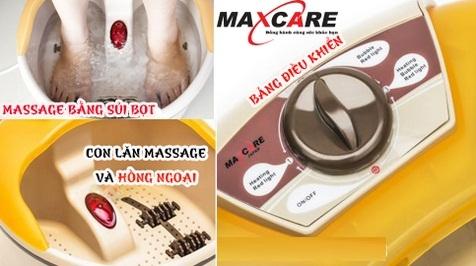 Bồn mát xa chân Maxcare Max-641B