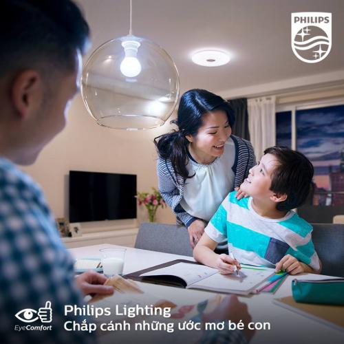 Bóng đèn Philips LED Essential Gen3 3W 3000K E27 A60 - Ánh sáng vàng-6