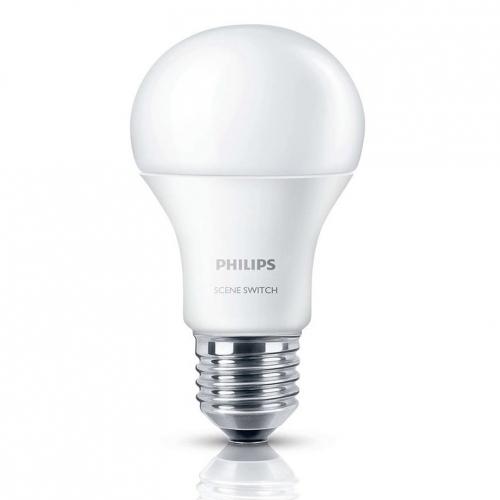 Bóng đèn Philips LED Scene Switch 3 cấp độ chiếu sáng 9W 3000K E27 - Ánh sáng vàng-3
