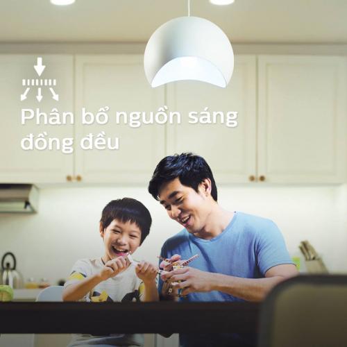 Bóng đèn Philips LED siêu sáng tiết kiệm điện Essential Gen4 5W E27 A60 - Ánh sáng vàng-3