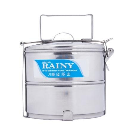 Camen inox 2 ngăn Rainy