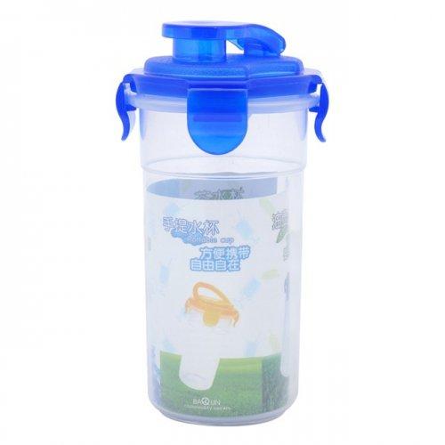 Combo Bộ 2 ly nhựa đựng nước có nắp 350ml-2