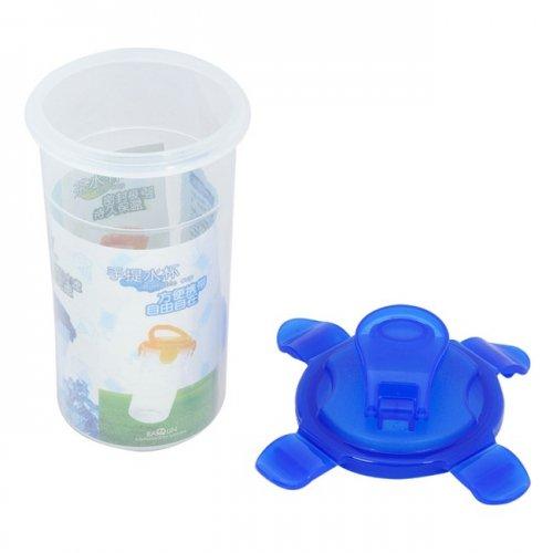 Combo Bộ 2 ly nhựa đựng nước có nắp 350ml-1