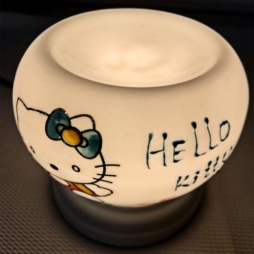Đèn xông tinh dầu gốm Bát Tràng - Hello Kitty-3