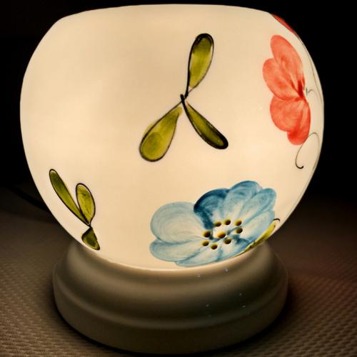 Đèn xông tinh dầu gốm Bát Tràng - Love Bird-1