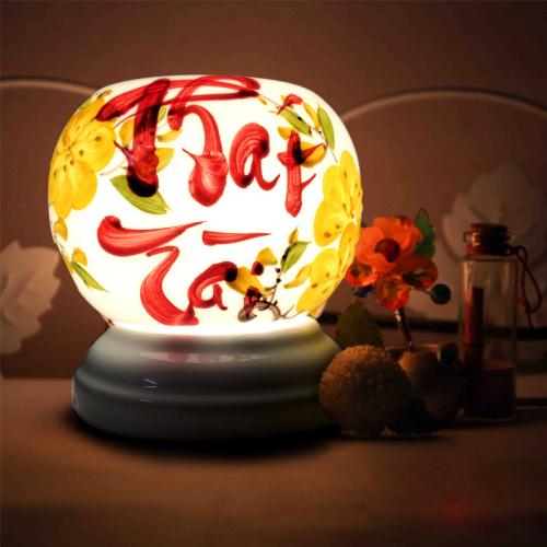 Đèn xông tinh dầu gốm Bát Tràng - Phát Tài-3