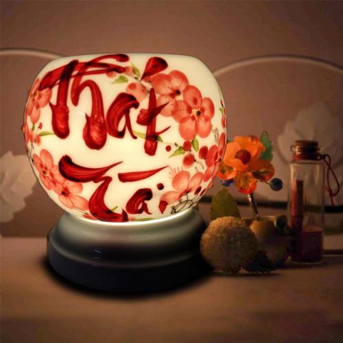 Đèn xông tinh dầu gốm Bát Tràng - Phát Tài-2