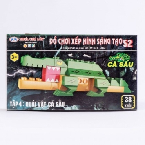 Đồ chơi xếp hình - M1073-LR52 (Số 52 - L5 - Tập 4)-4