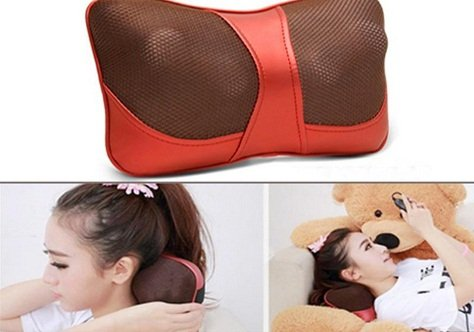 Gối massage hồng ngoại Magic Energy Pillow PL-818