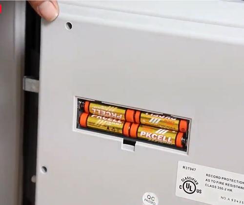 Két sắt khóa điện tử chống cháy, chống nước HONEYWELL 2605-5