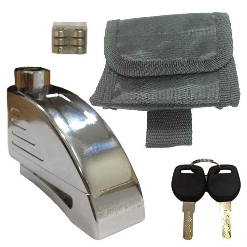 Khóa đĩa báo động chống trộm xe máy Kinbar K808-2